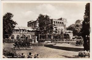 Stuttgart Villa Berg Ansichtskarte  Foto Ansichtskarte  1936