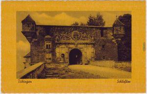 Ansichtskarte  Tübingen Schloss Hohentübingen: Schloßtor 1943