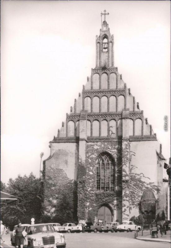 Kamenz Kamjenc Klosterkirche Kamenz Foto Ansichtskarte  1978