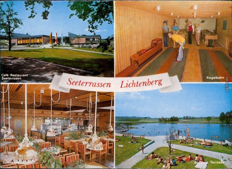 lichtenberg ofr hof restaurant seeterrassen strandbad nr 330596501 oldthing. Black Bedroom Furniture Sets. Home Design Ideas