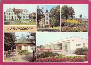Kühlungsborn Konzertgarten Ost Lesesaal, FDGB-Erholungsheim