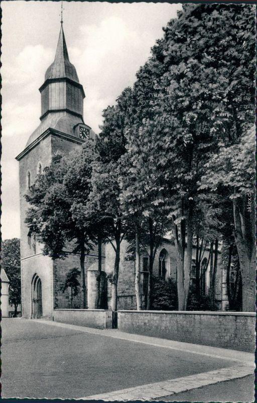 Foto Ansichtskarte Melle Blick auf die Kath. Kirche 1965