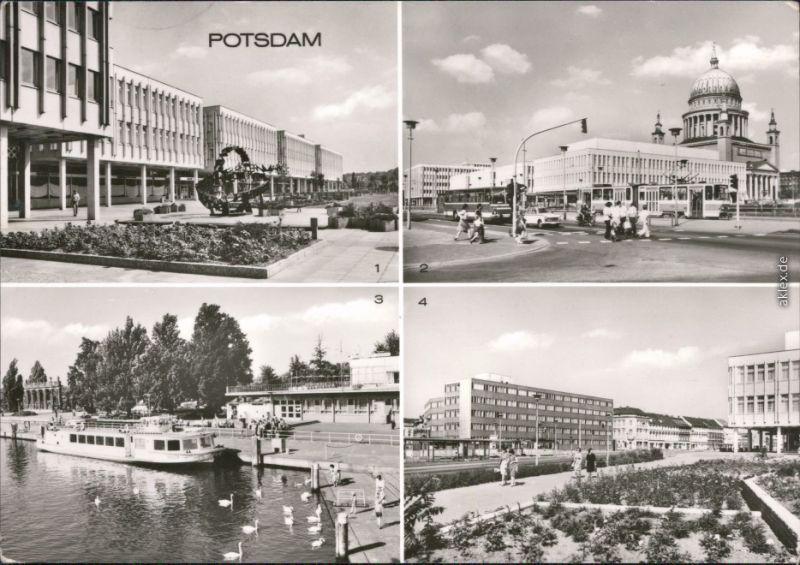 Potsdam   Ebert-Straße,  Anlegestelle der Weißen Flotte Platz der Einheit 1982