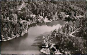 Ebnisee-Welzheim Luftbild: Ebnisee im Walzheimer Wald 1965
