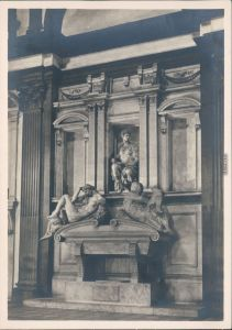 Florenz Firenze Michelangelo: Grabmal des Giuliano Medici 1968