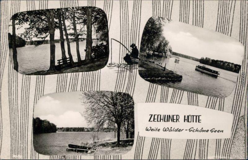 Foto Ansichtskarte Zechlinerhütte Rheinsberg Zechliner Hütte 1965