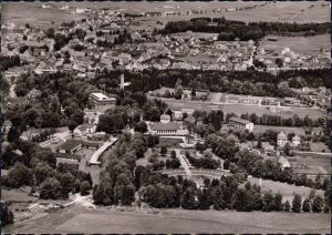 Foto Ansichtskarte Bad Dürrheim Blick über die Stadt 1964