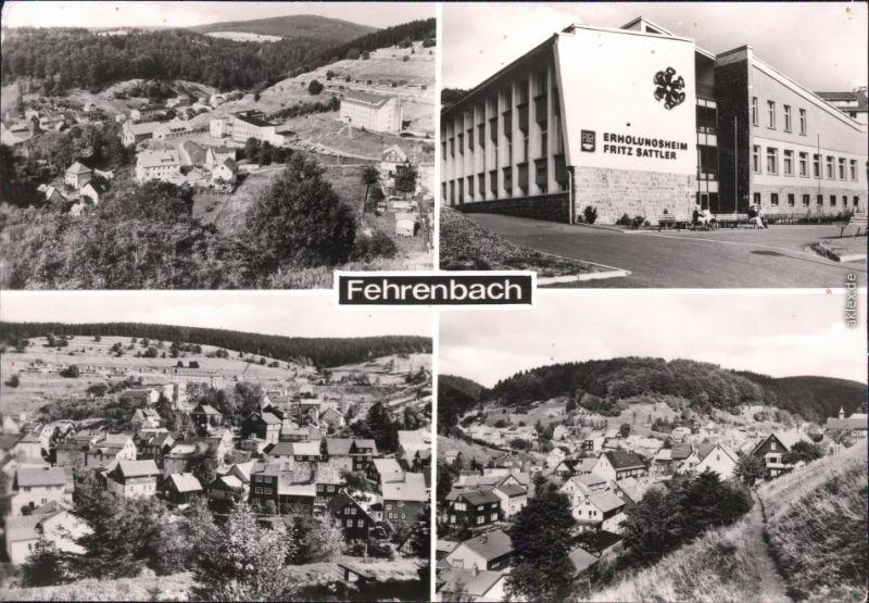 Fehrenbach Panorama-Ansichten und Erholungsheim
