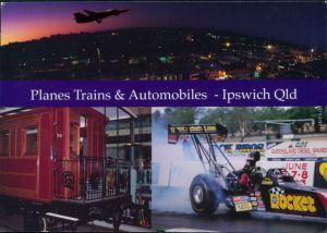 Ipswich  F111   The Workshops  Eisenbahn-Museum, Willowbank Raceway 1990