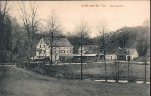 Langebrück Dresden Marienmühle, Seifersdorfer Tal xxxx 1918
