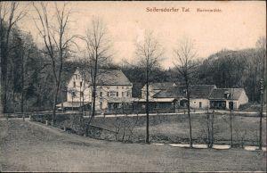 Langebrück Dresden Marienmühle, Seifersdorfer Tal Ansichtskarte 1918