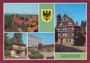 Arnstadt Panorama-Ansicht, ehem. Papiermühle Neubaugebiet Südviertel 1987