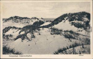 Osternothafen (Ostswine)-Swinemünde Warszów Świnoujście Dünenpartie 1922