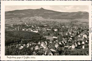 Reichenberg Liberec gegen den Jeschken - Park und Villen 1940