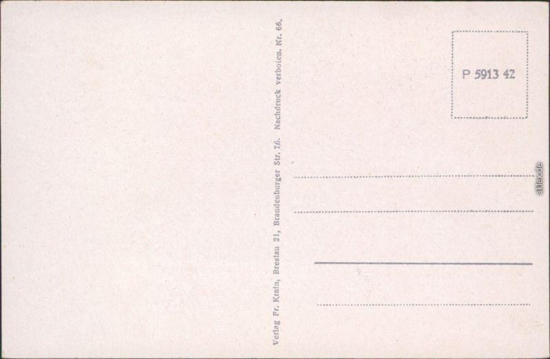 Breslau Karte 1930.Breslau Wroclaw Partie An Der Dom Und Sandinsel 1930 Ansichtskarte
