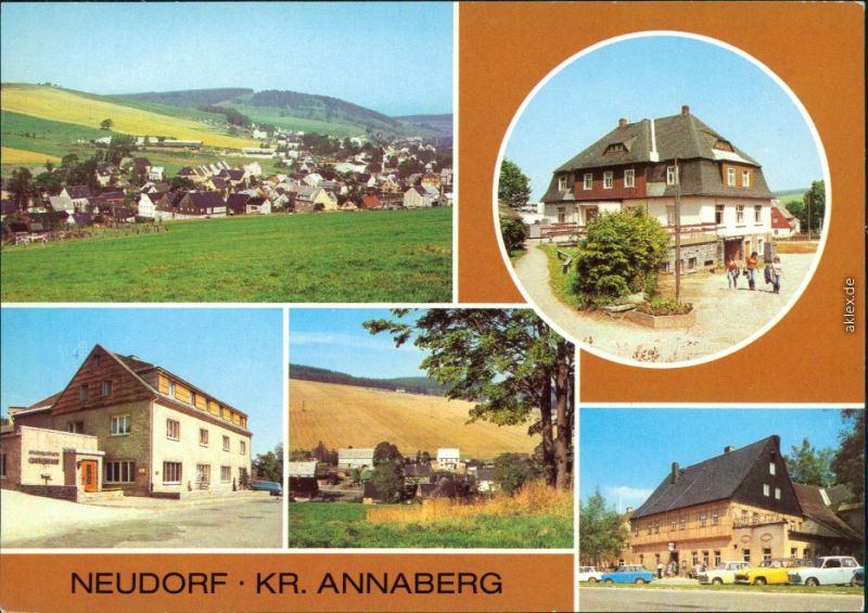 Neudorf Sehmatal  HO-Gaststätte