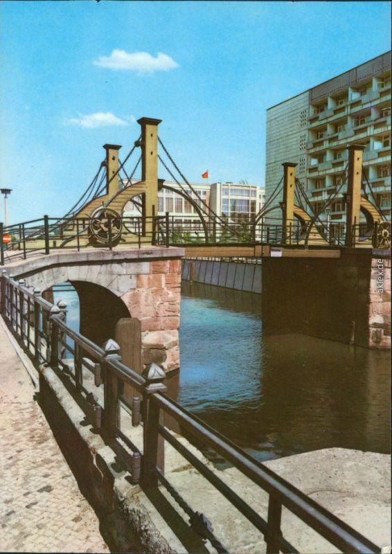 Ansichtskarte Mitte Berlin Jungfernbrücke 1972