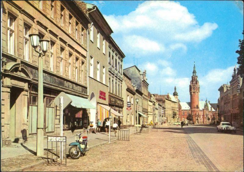 Dahme (Mark) Wilhelm-Pieck-Straße und Vogelturm 1974