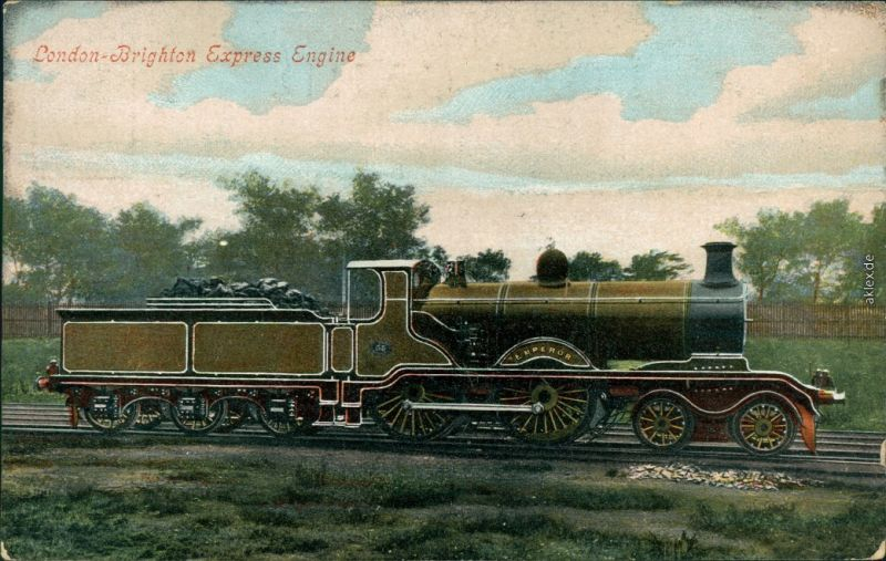 London London-Brighton Express/englische Eisenbahn: London-Brighton Express 1900