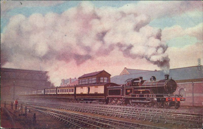 Carlisle Scotch Corridor Express Carlisle/englische Eisenbahn 1900