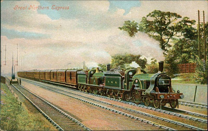Great Northern Express/englische Eisenbahn: Großer Nordexpress 1900