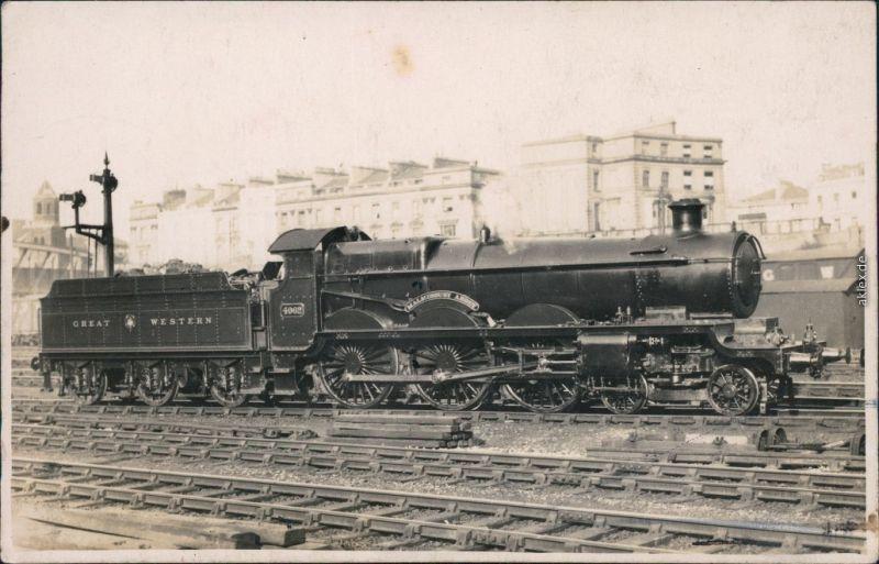 Malmesbury Great Western 4062/englische Dampflokomotive: Great Western 4062 1900