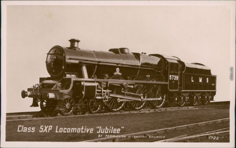 Class 5XP Locomotive