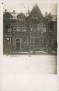 Johannstadt Dresden Haus Schumannstraße 6 - Privatfotokarte 1912