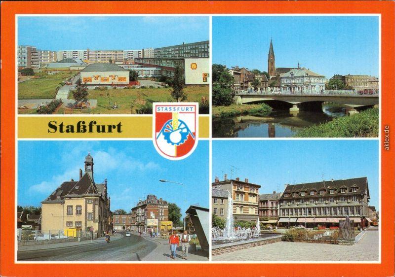 Staßfurt Schwimmbad staßfurt stassfurt leninring bodebrücke post karl marx straße