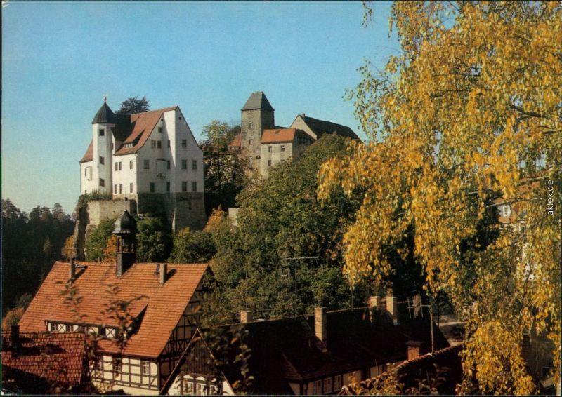 Hohnstein (Sächs. Schweiz) Burg Hohnstein Ansichtskarte 1985