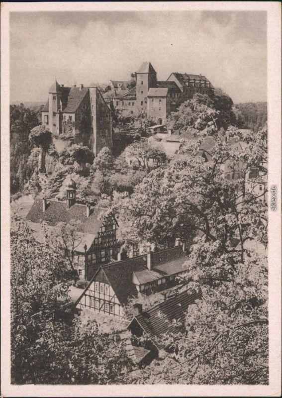 Hohnstein  Burg Hohnstein (Sächsische Schweiz) - Außen  1930