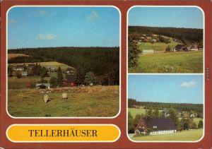Tellerhäuser-Breitenbrunn (Erzgebirge) Panorama-Ansichten 1985