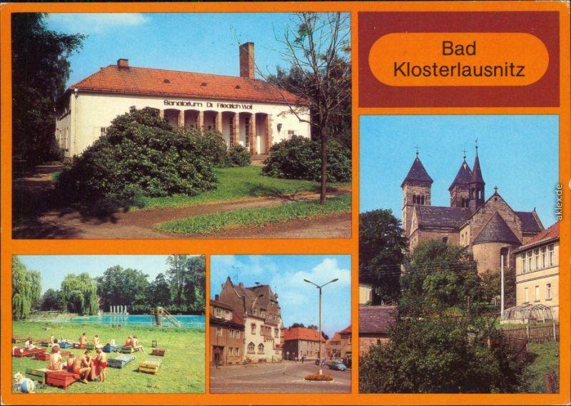 Bad Klosterlausnitz Sanatorium