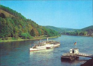 Dresden Sächsische Dampfschifffahrt (Weiße Flotte): Oberdeckdampfer 1984
