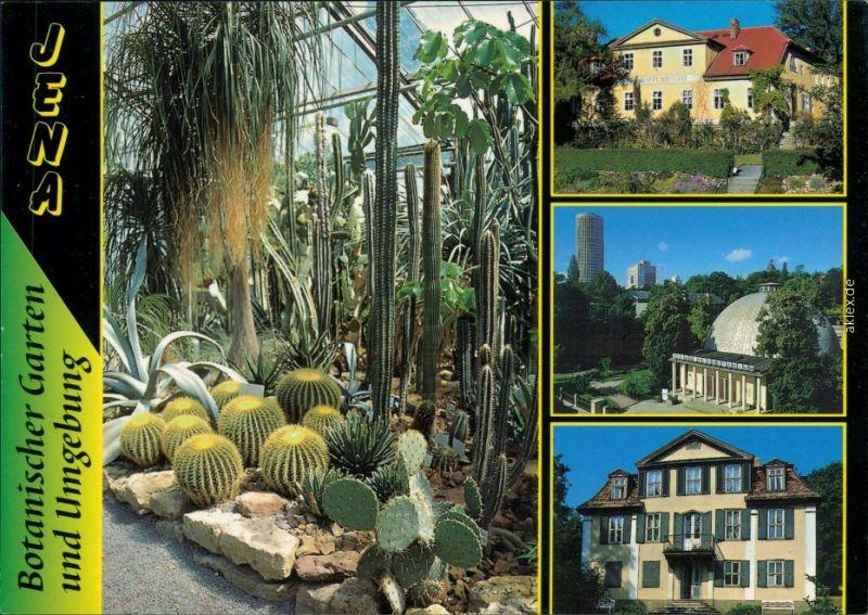 Jena Im Botanischer Garten Goethe Gedenkstätte Im Gartenhaus 1995