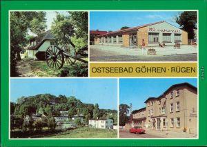Göhren (Rügen) Mönchguter Heimatmuseum, HO-Kaufhalle