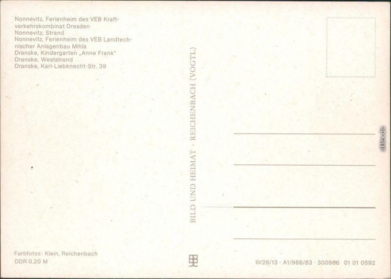nonnevitz dranske ferienheim veb weststrand karl liebknecht str 39 1983 nr 70768 oldthing. Black Bedroom Furniture Sets. Home Design Ideas