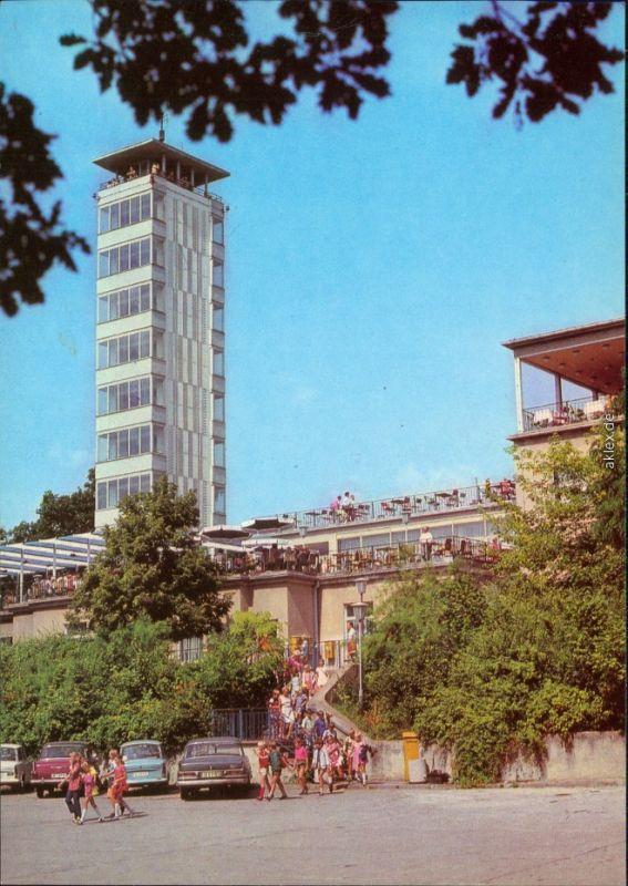 Köpenick Berlin Müggelturm Ansichtskarte x  1982