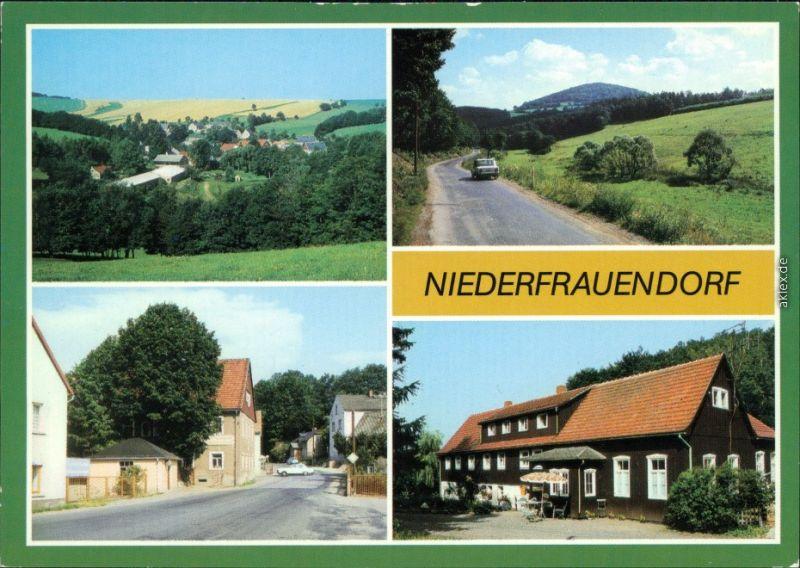 Niederfrauendorf Glashütte  Glashütte Straße, Waldhaus 1987