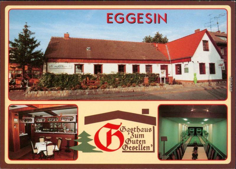 Eggesin Greifswald Gasthaus zum Guten Gesellen   und   Gästebereich 1995
