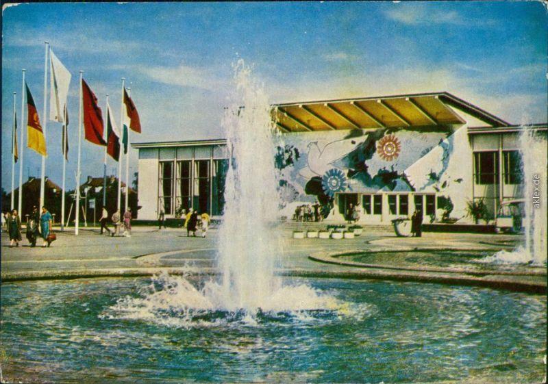 Erfurt Internationale Gartenbauausstellung der DDR (IGA): Springbrunnen 1961