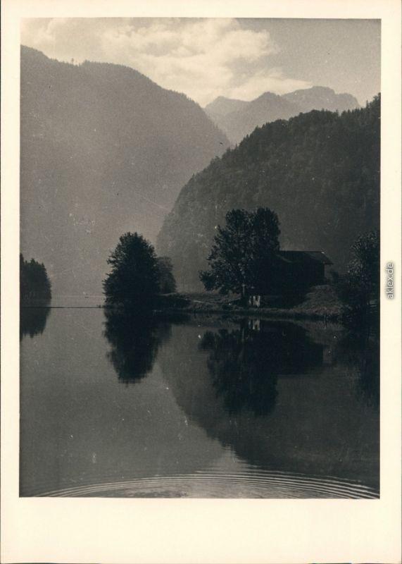 Schönau am Königssee Am Königssee 1954 Privatfoto