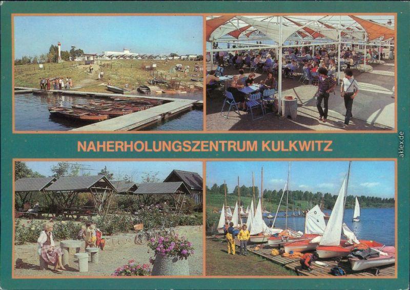Kulkwitz Leipzig Verschiedene Ansichten aus dem Naherholungszentrum    1987