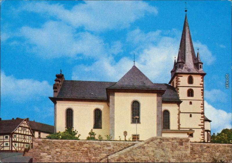 Grossenlüder Kath. Pfarrkirche St. Georg 1989
