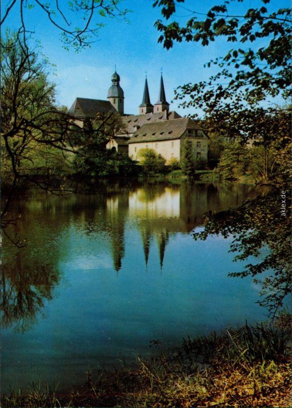 Ansichtskarte Marienmünster Abteikirche Marienmünster 1995