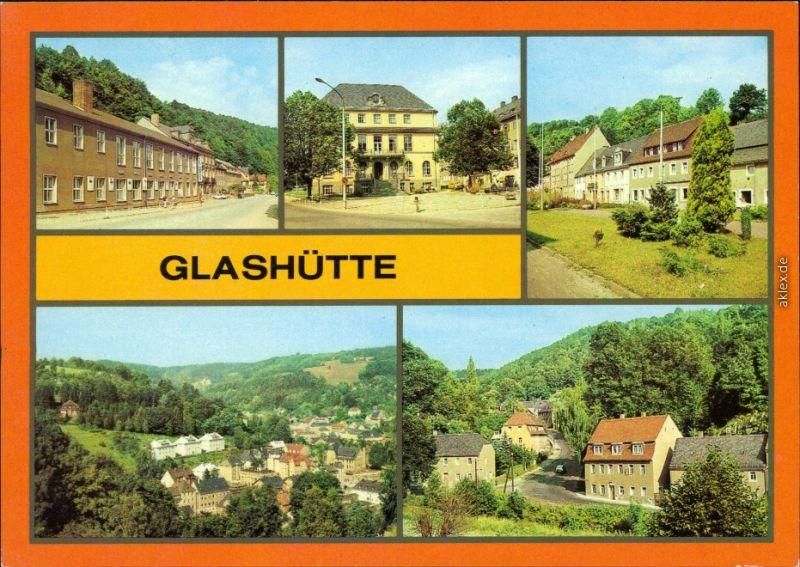 Glashütte Kulturhaus, Ingenierschule für Feinwerktechnik, Luchauer Straße 1984