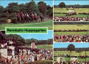 Dahlwitz Hoppegarten VEB Vollblutrennbahnen mit vielen Besuchern Rennen 1981