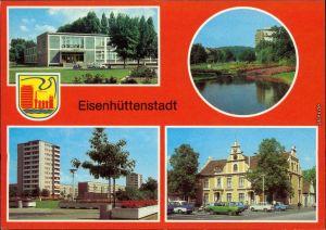 Eisenhüttenstadt Stalinstadt  Pionierhaus  Diehloer Straße Lilienthal-Ring 1983