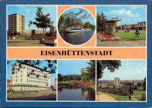 Eisenhüttenstadt Stalinstadt ( Anlegestelle  Diehloer Straße, Rosenhügel 1983