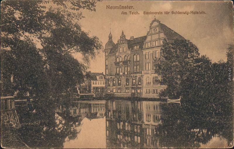 Neumünster Am Teich, Bankverein für Schleswig-Holstein 1919